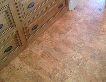 vinyl and cork flooring